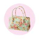 花柄のバッグ