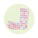 こんぺいとう柄の足袋ソックス