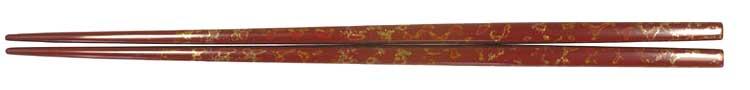 津軽利休箸(赤)(大)