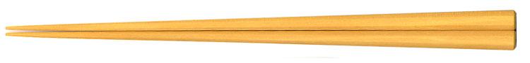 銘木箸 つげ八角箸(大)